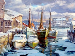Fishermans' Wharf Winter
